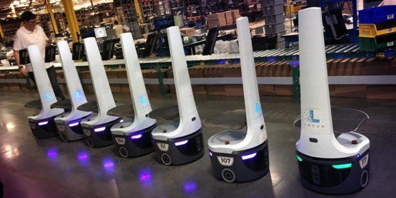 Locus Robotics raises $40 million to take its warehouse robots global