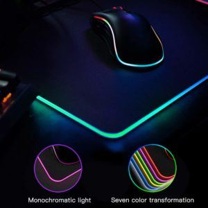 What types of Gaming Mouse Pad are there in a comparison review?