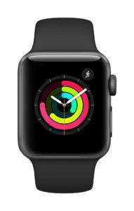 The Apple Watch is ideal when you're practicing sports but want to stay connected to the world.