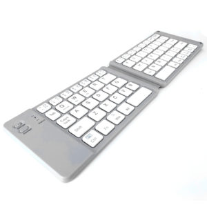 Foldable keyboards are very useful when you are travelling.