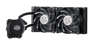 Water cooling has some advantages over a conventionally fan-cooled computer. It is efficient, quiet, and allows for some extra features.