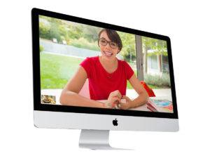 Both desktop computers and MacBooks are characterized by their sophisticated appearance and the care given to their materials.