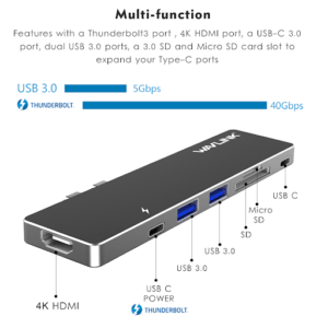 Data transmission with USB hubs is generally measured in Mbps (Megabits per second).