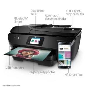 The HP OfficeJet Pro 8035 All-in-One Printer is a revolutionary home office printer that includes 8 months of ink.