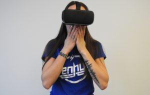 Virtual reality headsets allow you to live a totally immersive experience.