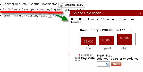 Payscale, providing useful info on compensation | VentureBeat