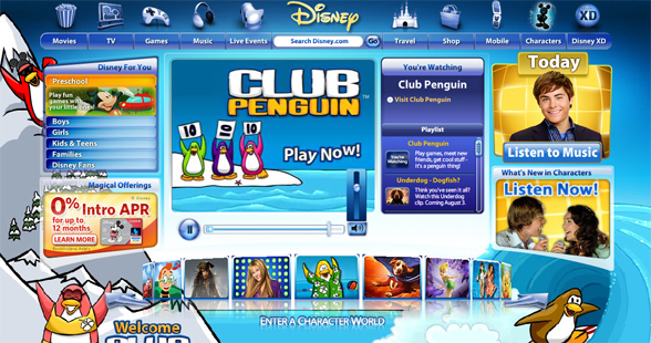 Disney Buys Club Penguin In 700 Million Deal Virtual