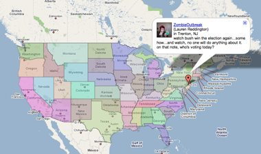 google map election