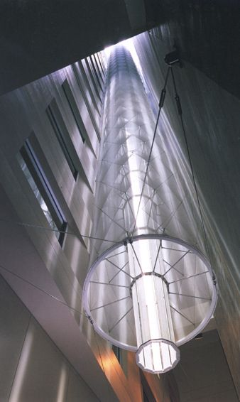 Super efficient lighting technologies provide energy for Pipes and lights
