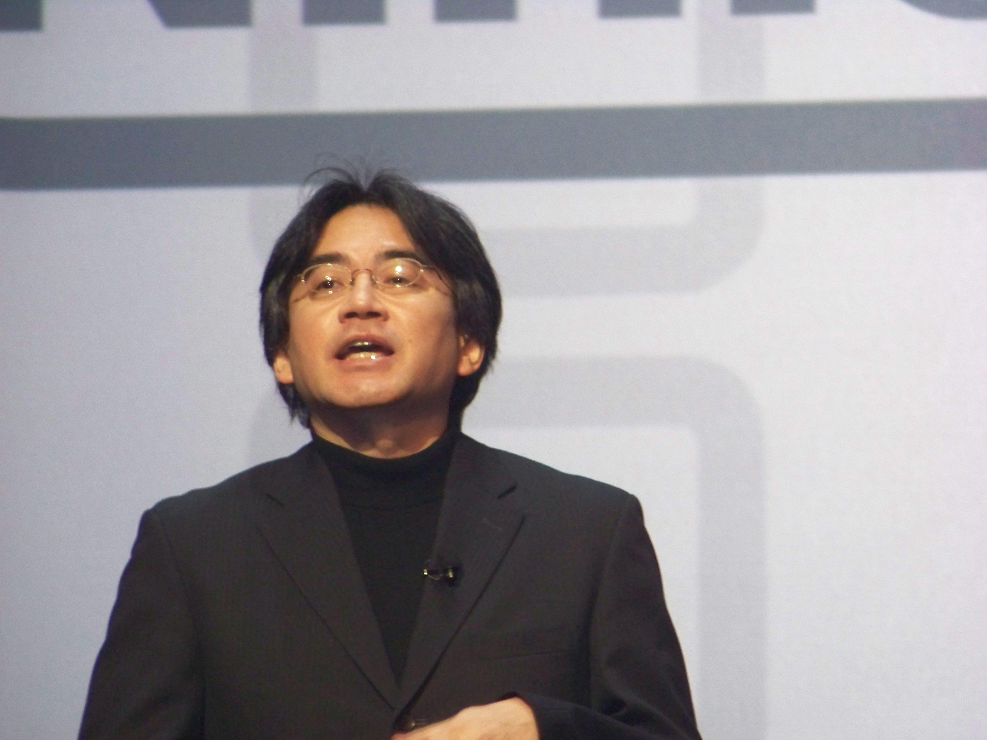 Satoru Iwata of Nintendo. Is the Big N's big cheese in trouble?