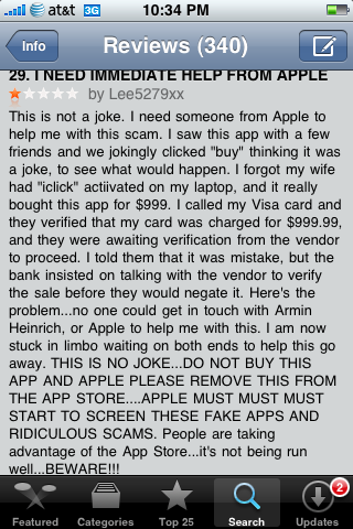 Rich person app