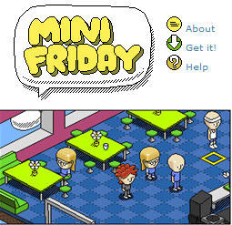 mini friday the mobile habbo hotel nears 1m users venturebeat. Black Bedroom Furniture Sets. Home Design Ideas