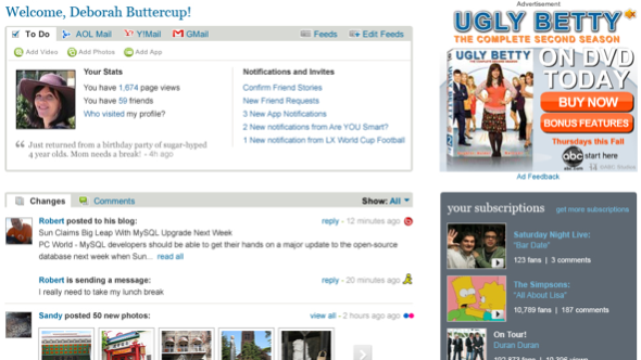 bebo launches new homepage its take on lifestreaming venturebeat