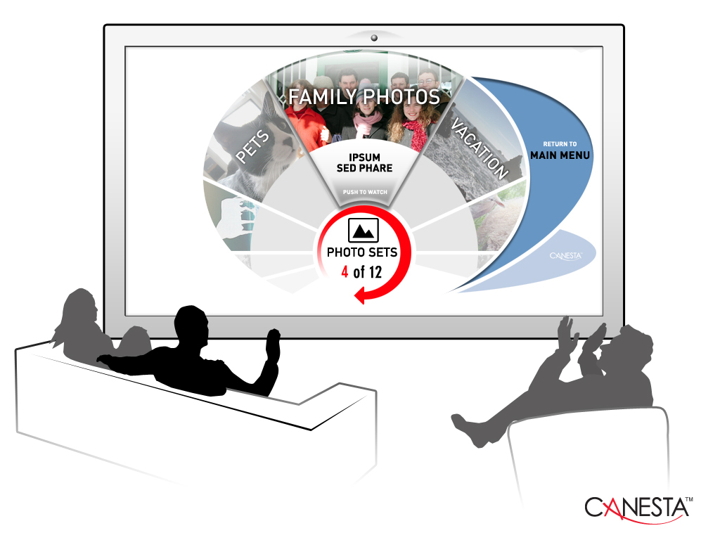 canesta teams up with hitachi to create a wii-like next-generation tv  control