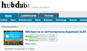 Did you correctly predict Hubdub's round of funding? | VentureBeat