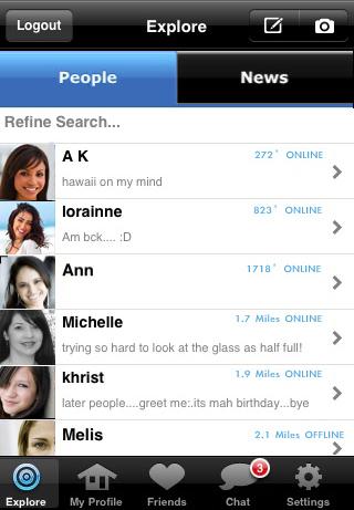 Me blocked skout app Meet people