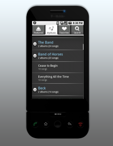 My music to my ears: Imeem's Android app accesses your music in the
