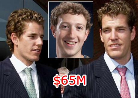 Tyler and Cameron Winklevoss may have had some serious evidence showing that