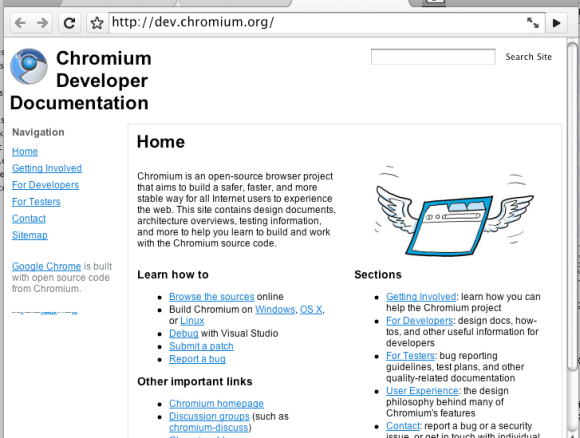 Early pictures: Google Chrome on the Mac | VentureBeat