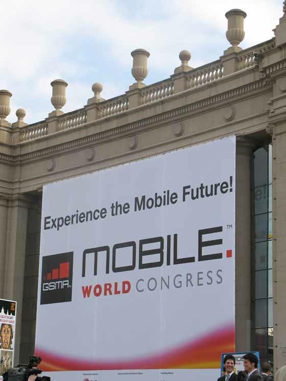 Telemóveis e Tablets fazem mover Barcelona Mwc