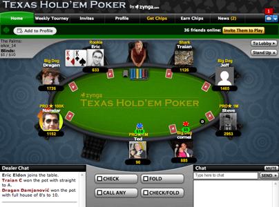 Zynga Poker Facebook Play