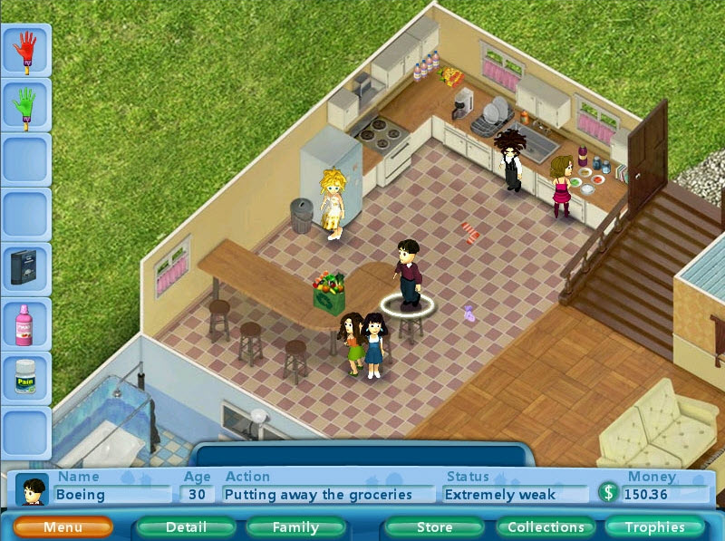 Can Casual Game Virtual Families Take A Chunk Out Of The Sims