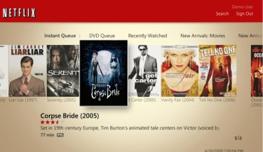 Movie fans to get a TV-friendly Netflix experience on Windows Media