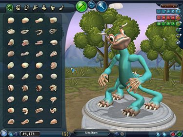 ea s spore game creature uploads strong but game sales now on the
