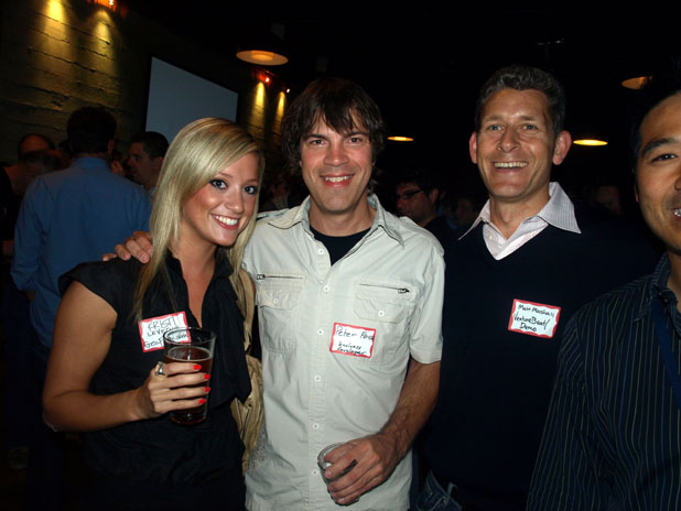 Kristi LeVeque, Sales & Marketing Manager for GeoPage/Zoodango, Peter Fosso, Matt