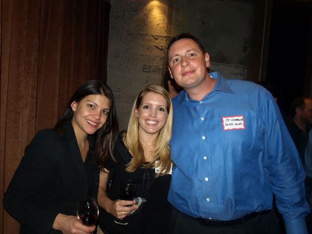 Natasha Seidl of Porter Novelli, Michelle McQuaid of Porter Novelli, J.P. Szambelan of Porter Novelli (P.R.)