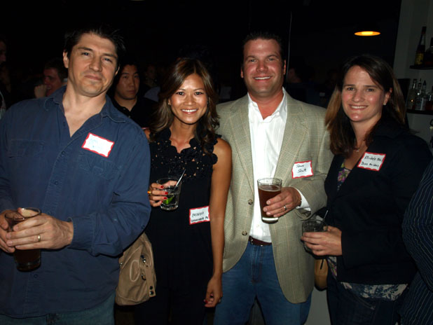 Ken Smith, Minou Nguyen (Partner at Illuminate Public Relations), Steve Stratz (Partner at Illuminate Public Relations), Michelle Mehl, BuzzBuilders (P.R. for startups)