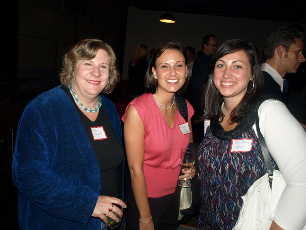 Ann Wendell, Michelle Craig, director of public relations at Nyhus Communications, Katie James Nyhus