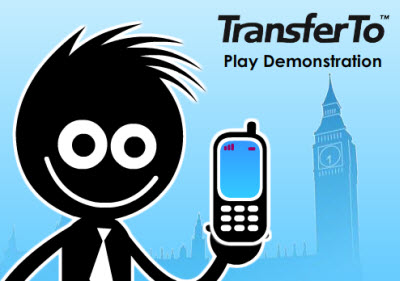 Transfer To: Lets you transfer mobile phone credit to relatives