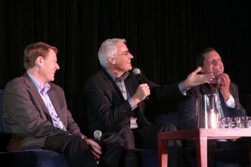 Bradley Williams of Oracle on the Standards and Security panel at GreenBeat 200