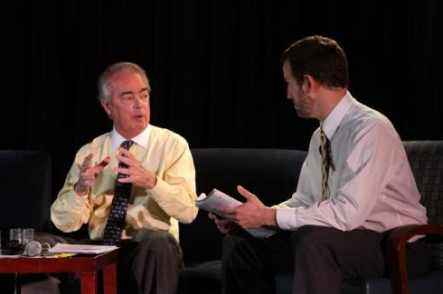 James Robert of Duke Energy isinterviewed by John Gartner of Matter Network at GreenBeat 2009