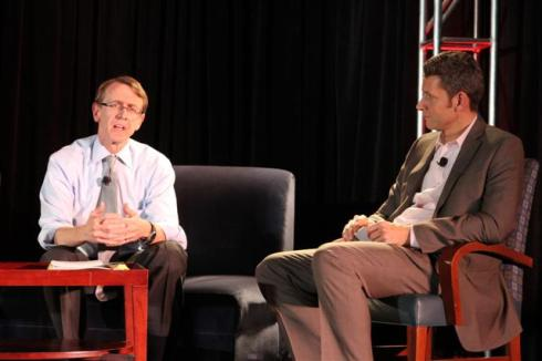 GreenBeat 2009 opening fireside chat with John Doerr of Kleiner Perkins