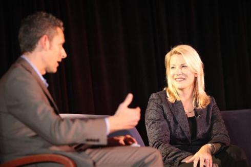 Laura Ipsen of Cisco speaks with Matt Marshall at GreenBeat 2009