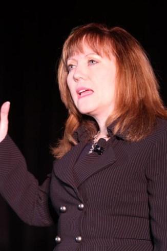 Executive Climate Change Survey presented by Accenture senior executive Sharon Allan