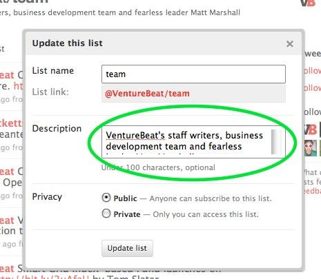 venturebeatlists