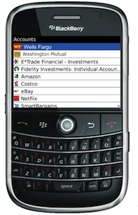 pageonce blackberry