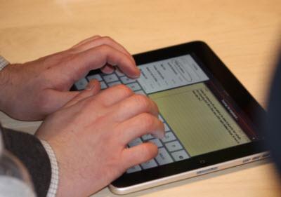apple typing