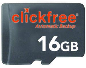 clickfree microsd backup