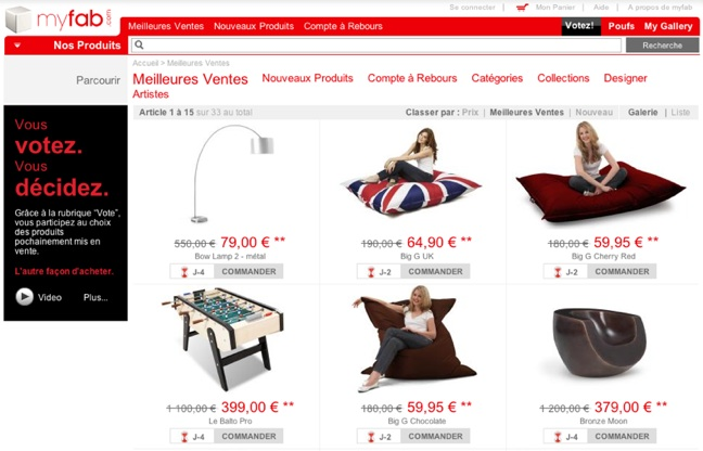 china based furniture on demand site myfab expands to us venturebeat. Black Bedroom Furniture Sets. Home Design Ideas