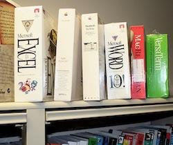 software shelf