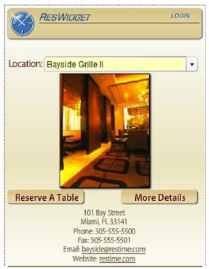 DEMO Restaurant Reservation System Challenges OpenTable - Open table reservation system