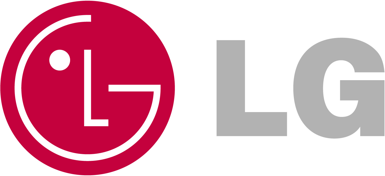 This image shows a screenshot of LG Electronics' logo.
