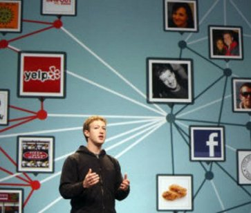 Mark Zuckerberg at Facebook f8