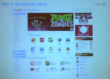 Chrome web app store
