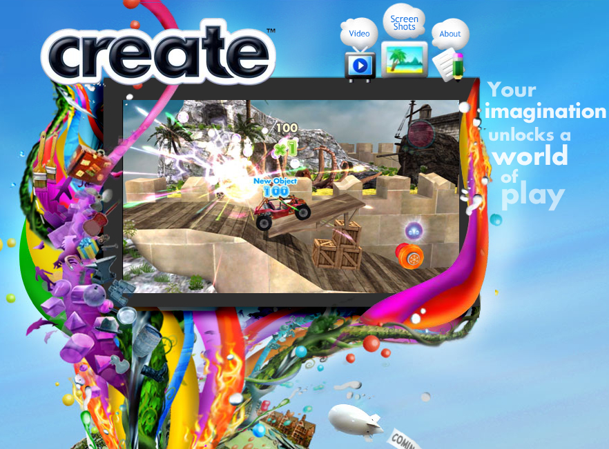 Ea To Launch New User Generated Game Create Venturebeat
