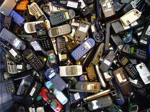 phone pile